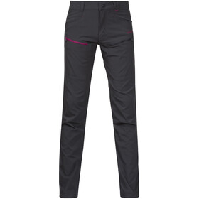 Bergans Youth Girls Utne Pants Solid Charcoal/Cerise/Dusty Cerise